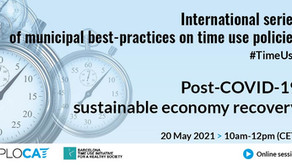 S'inicia el cicle internacional de Polítiques de Temps Urbanes