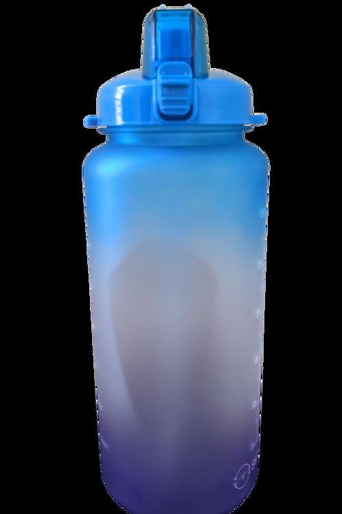 Blue-Lid Bottle