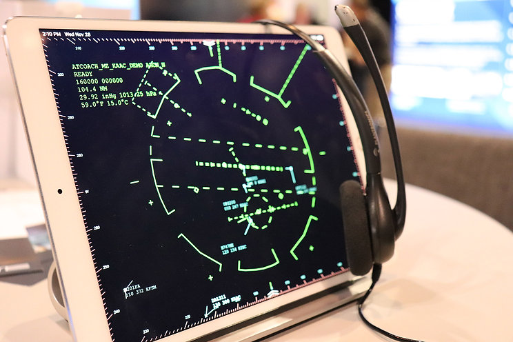 Air Traffic Control Simulation & Voice Recognition