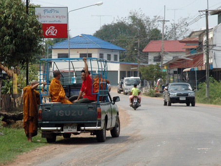 Why I choose to take a taxi to the monastery every time