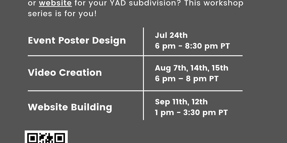 YAD Digital Content Workshop: Poster Design