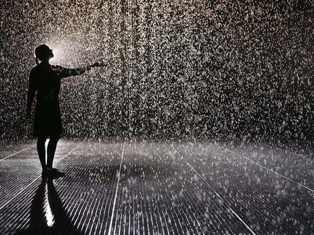 Take some time to enjoy the rain.