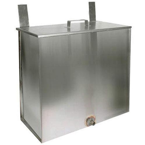 Навесной бак ферум, 60 литров, нержавейка, 1мм