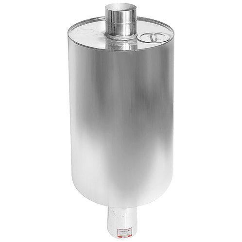 Бак круглый ферум, 72 литра, нержавейка 1мм