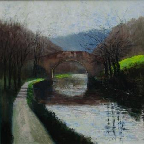 February Canal, limited edition print
