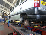 van repairs, servicing and MOT in Frome