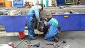 volvo hgv wheel bearing and brakes