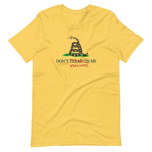 Don't Jab Me Short-Sleeve Unisex T-Shirt copy