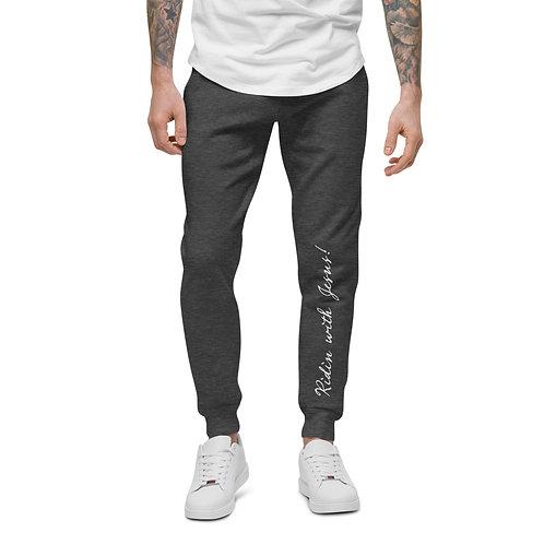 Branded RWJ Unisex fleece sweatpants