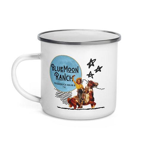 Blue Moon Ranch Original Cowgirl Tin Cup