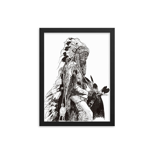 Big Chief Framed poster