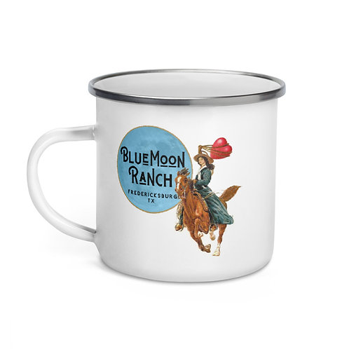 Blue Moon Ranch Big Heart for Horses Tin Cup