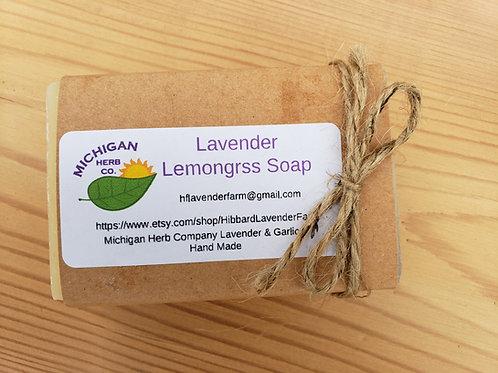 Lavender Lemongrass Cold Process Soap Bars