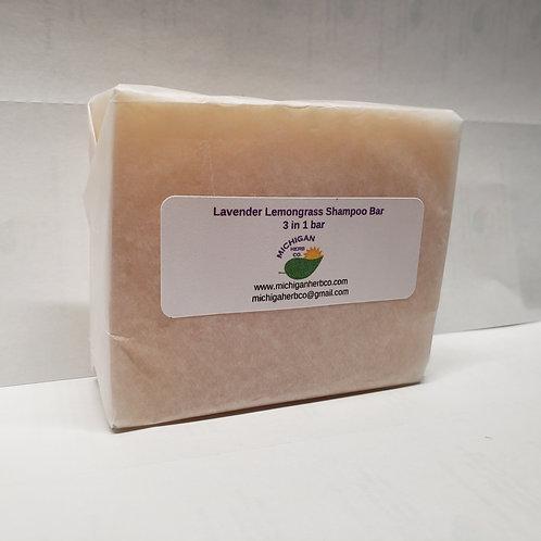 Lavender Lemongrass shampoo bar