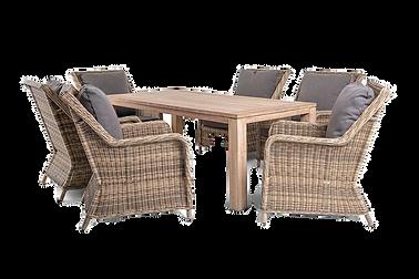 мебель для кафе и баров из ротанга