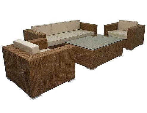 Комплект садовой мебели - Liaht brown