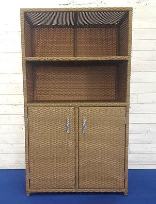 Шкаф из искусственного ротанга