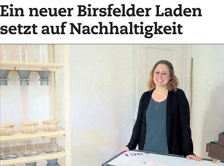 Titelseite Birsfelder Anzeiger, 20.11.2020