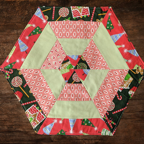 Holiday Quilted Table Mat