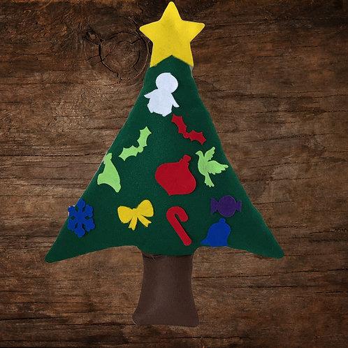 Toddler Christmas Tree Pillow