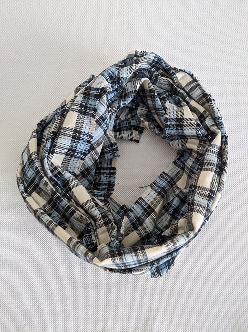 Handmade Flannel Scarf- Rectangle Shaped