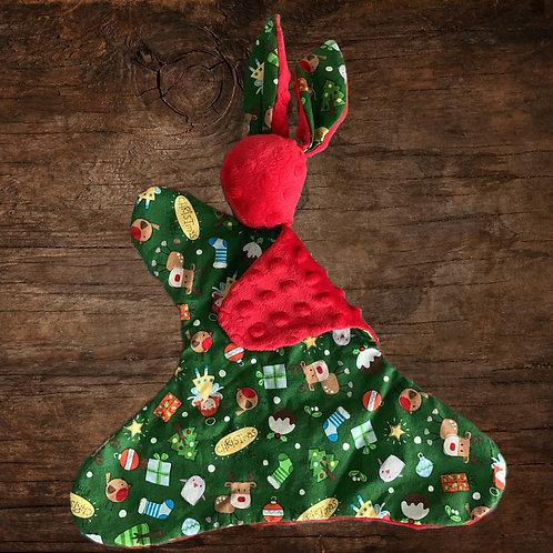 Christmas Bunny Lovey