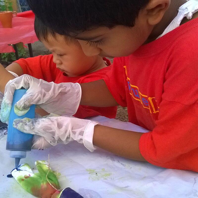 Tie-dye - pintando camisetas
