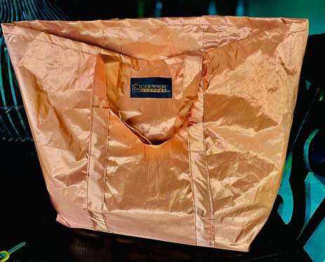 LUXURY QUILTED COPPER SHOPPER