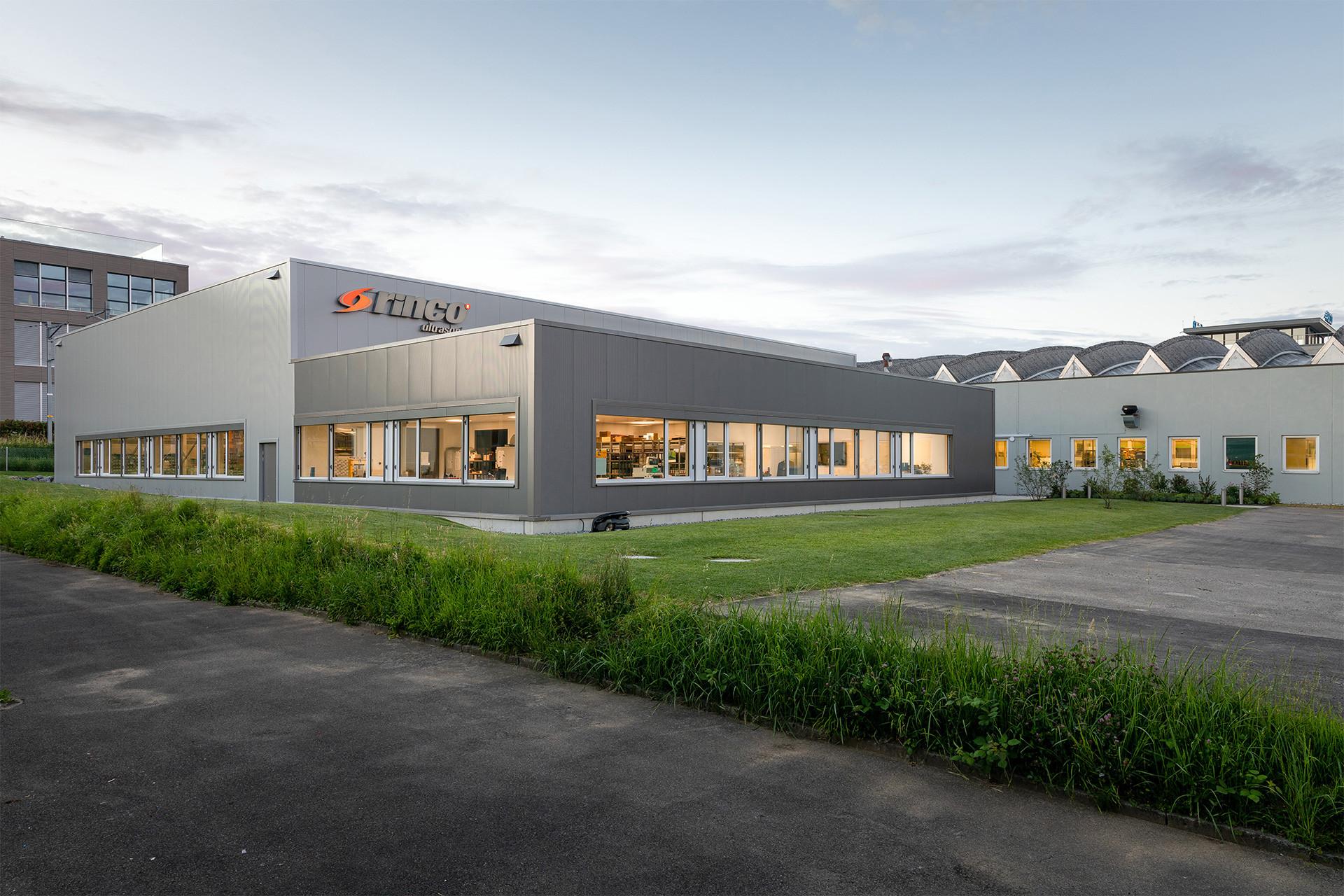 Gebäudeerweiterung Rinco Ultrasonics