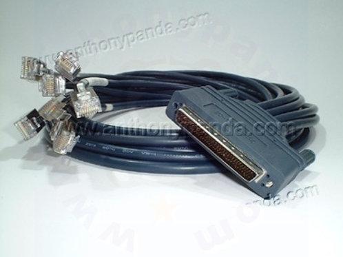 8 RJ45 Async Octal cable - 6 Feet