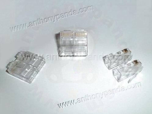 RJ-48 Modular Plug (10P10C) - Qty 100