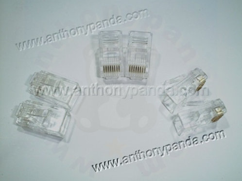 RJ-45 Modular Plug (8P8C) - Qty 100