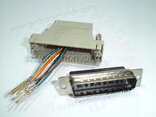 RJ45 to Modem Adaptor - Male