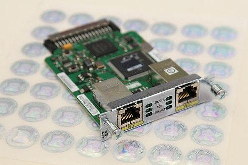Cisco HWIC-2FE 2-port Fast Ethernet Interface Card