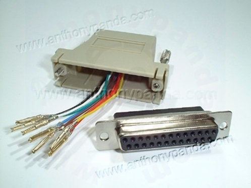 RJ45 to Modem Adaptor - Female
