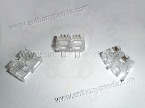 RJ-12 Modular Plug (6P6C) - Qty 100