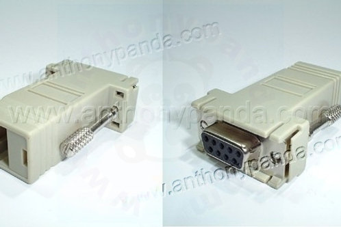 Cisco DB9 to RJ45 Console Adaptor