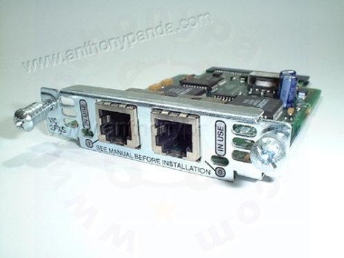 Cisco VIC-2FXS Voice Card