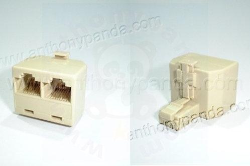 RJ45 1 to 2 T - Splitter Adaptor