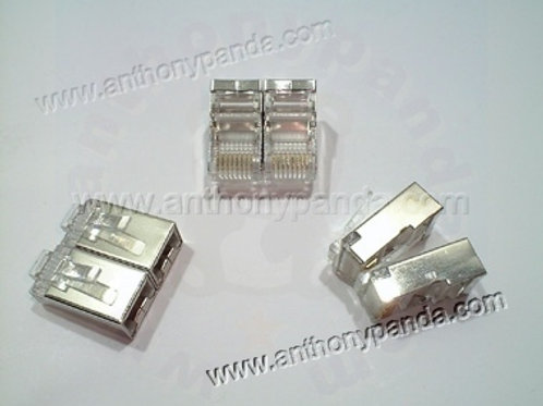 RJ-45 Shielded Modular Plug (8P8C) Qty 500