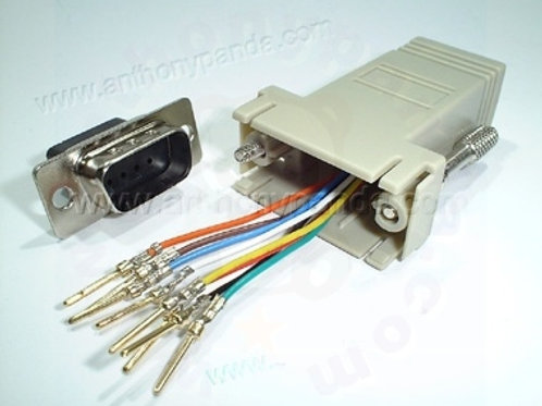 RJ45 to Serial Adaptor - Male
