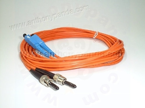Fiber Optical Cable MM 10 Feet - SC to ST