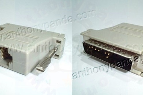 Cisco DB25 to RJ45 Console Adaptor