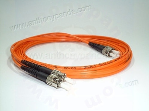 Fiber Optical Cable MM 10 Feet - ST to ST
