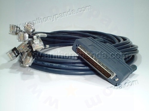 8 RJ45 Async Octal cable - 10 Feet