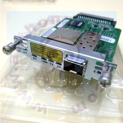 Cisco HWIC-1GE-SFP High Speed Wan Interface Card
