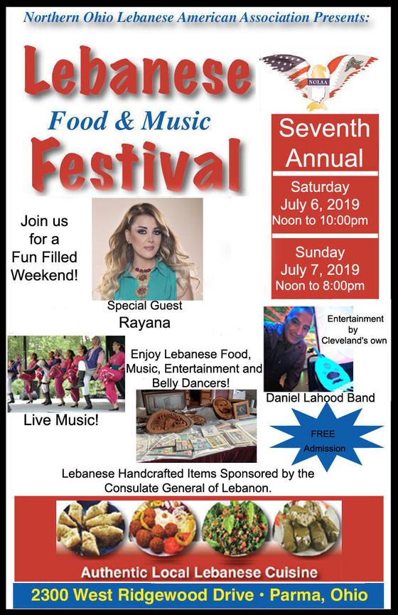 2019 Lebanese Food & Musical Festival