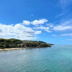 Vue sur le littoral de Baie du Cap, depuis le Macondé, cette langue de roche pittoresque