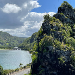 Embouchure de la Rivière du Cap, depuis le Macondé