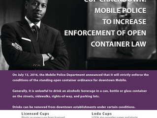 CUP CRACKDOWN: MPD INCREASES ENFORCEMENT OF OPEN CONTAINER LAW